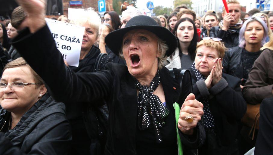 Miasto kobiet. Orecepcji czarnych protestów